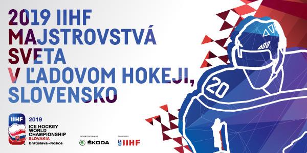 Vstupenky na 2019 IIHF majstrovstvá sveta v ľadovom hokeji na Slovensku