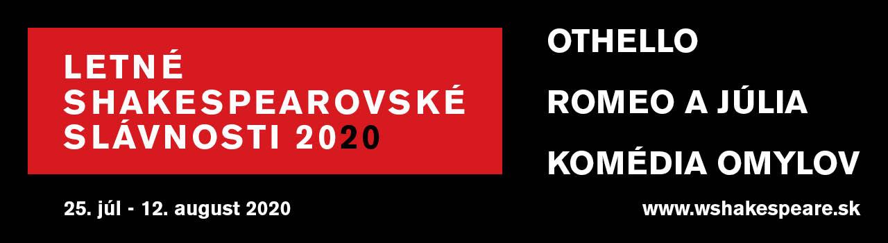 LETNÉ SHAKESPEAROVSKÉ SLÁVNOSTI 2020